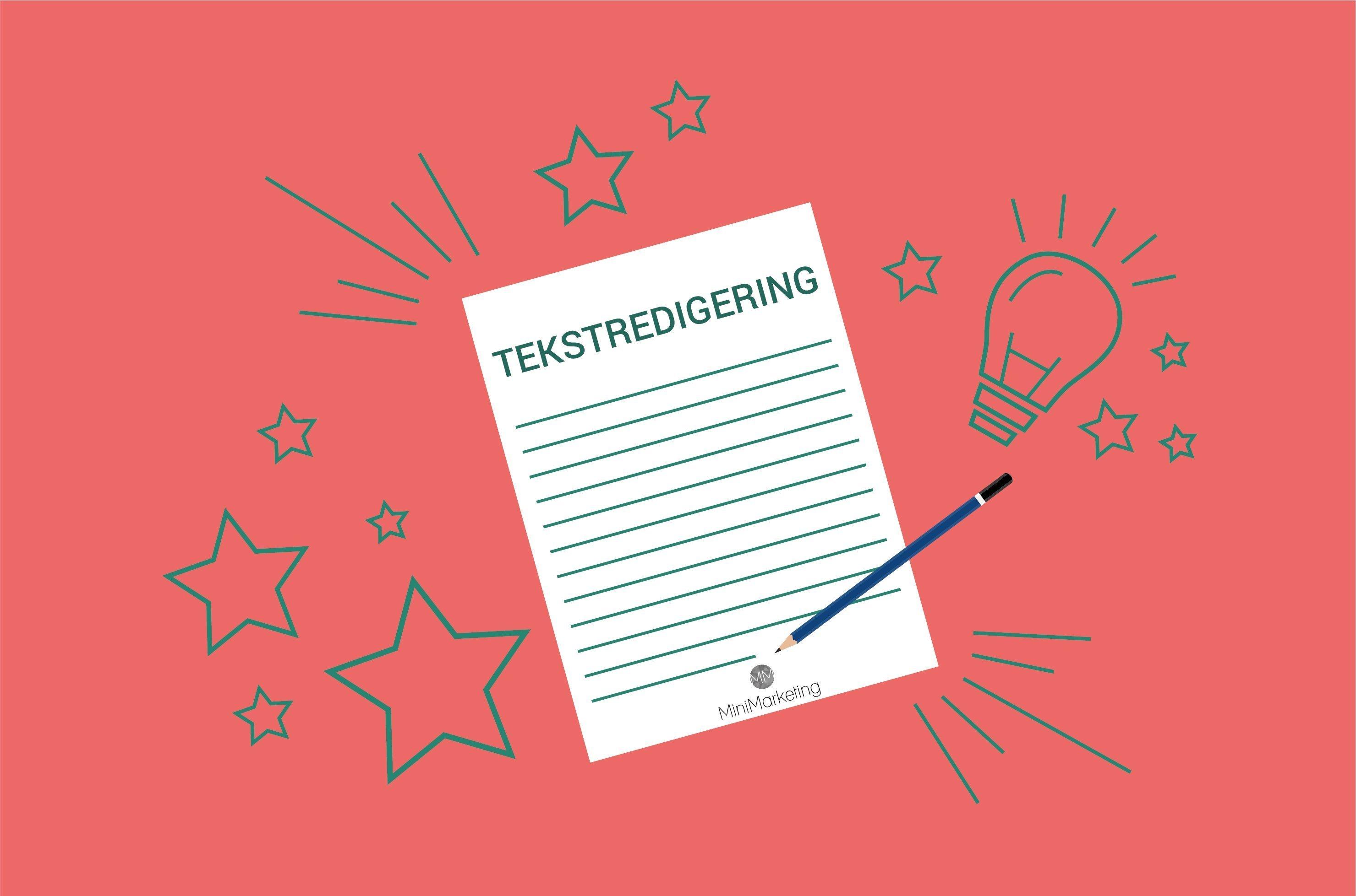 Tekstredigering how to
