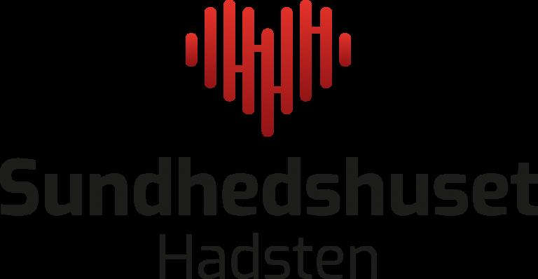 Sundhedshusets centrerede logo