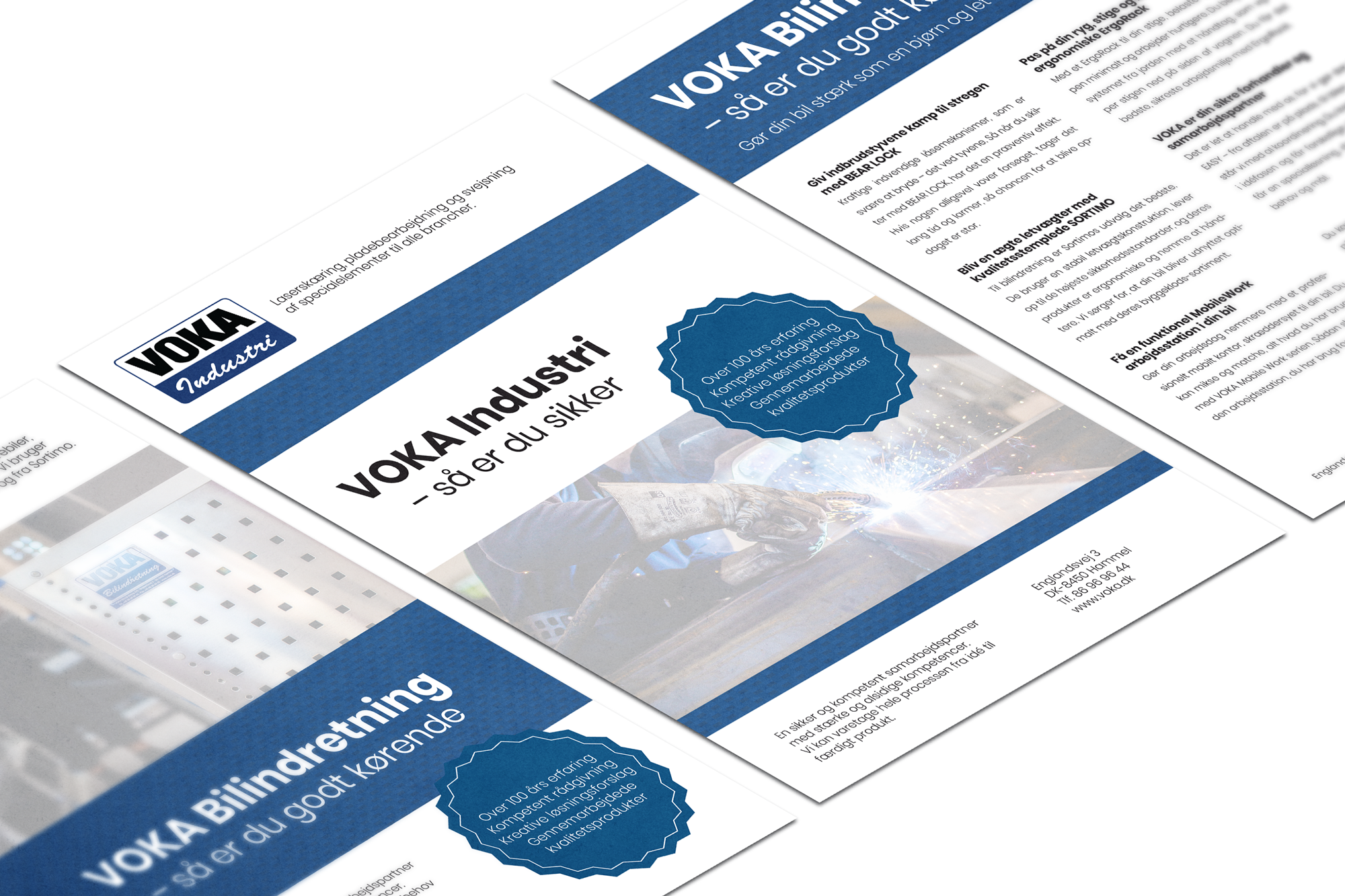 Profilbrochure lavet for VOKA
